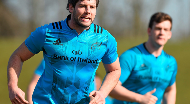 Munster's Dave O'Callaghan has got a run of games together and could be key to tonight's game in Cardiff Photo: Sportsfile