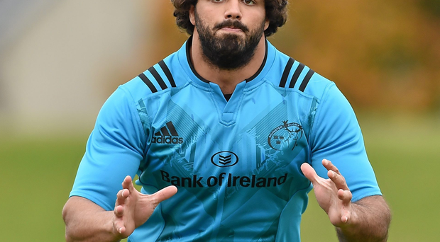 Uruguayan international Mario Sagario admits he couldn't believe it when Munster came calling Photo: Sportsfile