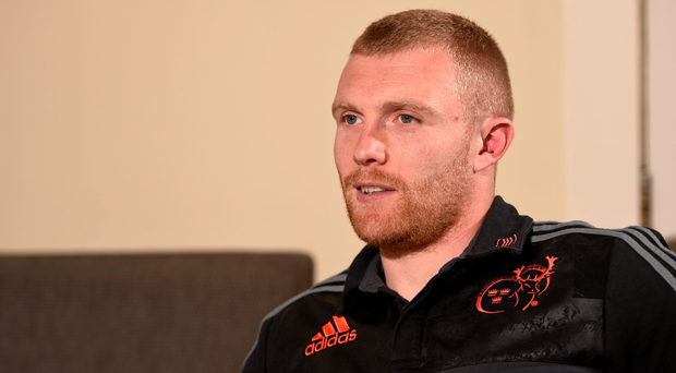 Keith Earls is determined that he and his Munster team-mates mount a strong finish to the season. Photo: Sportsfile