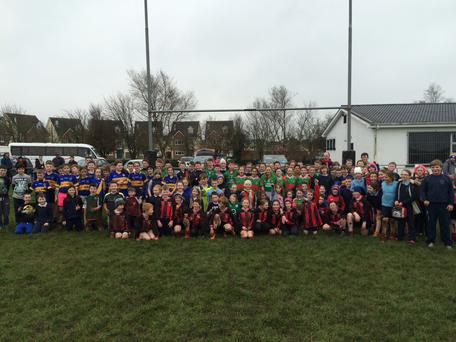 Participants in the recent Thurles RFC blitz