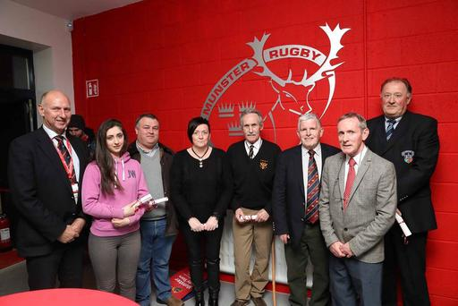 The Munster Rugby Provincial Club and Volunteer Awards 2016, in conjunction with the IRFU, took place last Friday