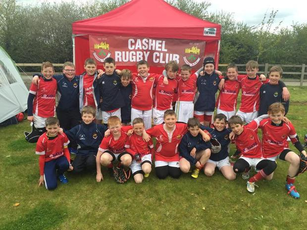 The U-12s team that competed in the annual London Irish tournament. They managed to reach the final but were beaten by Battersea