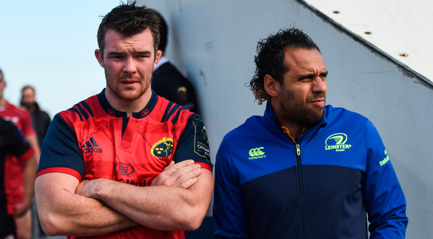 Munster are delighted to have Peter O'Mahony back in time to face Isa Nacewa and Leinster. Photo: Stephen McCarthy/Sportsfile