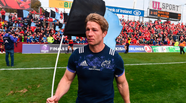 Jerry Flannery: The whole rugby community was affected and seeing the way they came out in support of us lifted my spirits and restored my faith in Munster rugby and people in general. Picture: Sportsfile