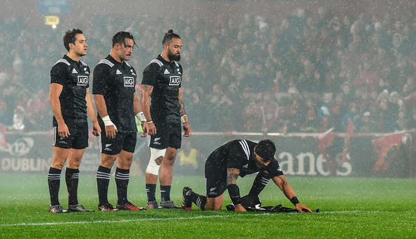 O'Donnell: The Maori All Blacks tribute to Axel Foley last Friday night was awesome. SPORTSFILE