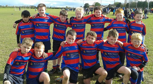 Carrick-on-Suir's U-11s pictured during their blitz