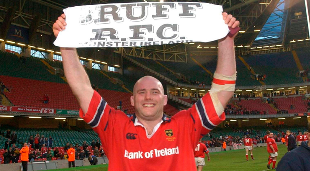 Bruff RFC stayed to the forefront of former player John Hayes' mind at the end of Munster's victory in the Celtic League final of 2003 Picture: Matt Browne / SPORTSFILE