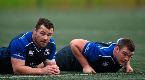 Cian Healy and Jack McGrath have dominated the Ireland No 1 jersey but there's a number of contenders lining up to compete for the position Picture: Sportsfile