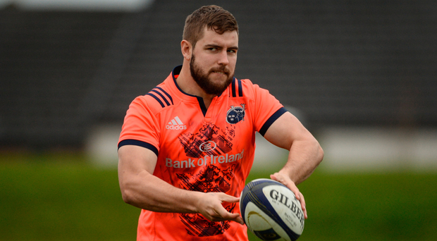 Hooker Rhys Marshall has played in 12 of Munster's last 15 games. Photo: Sportsfile