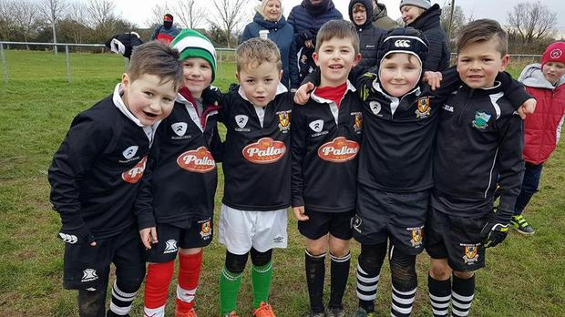 Newcastle West's underage players
