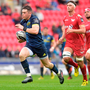 Ronan O'Mahony helped Munster to victory over Scarlets last September – a result which has proved to be a springboard for their season. Photo: Sportsfile