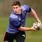 Munster out-half Ian Keatley may be heading to Worcester. Photo: Sportsfile