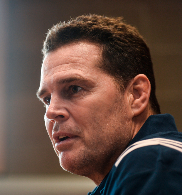 Rassie Erasmus will be hoping that Scarlets defeat will spur his charges on. Photo: Sportsfile