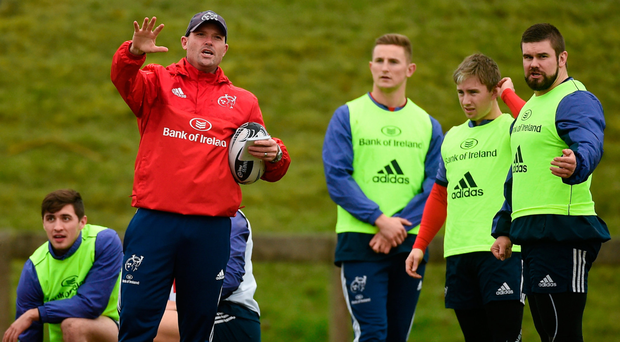 Jacques Nienaber has enjoyed his time away from training pitch during the break. Photo: SPORTSFILE