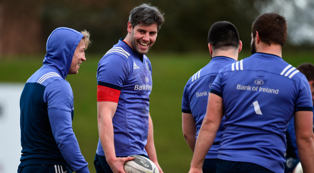 Dave O'Callaghan made the most of his time-off. Photo: SPORTSFILE