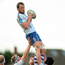 Brian Hayes of Cork Constitution, wins possession in a line out. Photo: Sportsfile