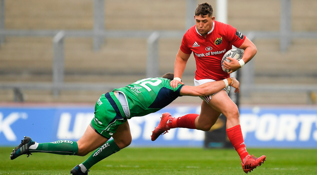 The likes of Dan Goggin will have the match-fitness to hit the ground running should Munster need the youngsters at the business end of the season. Photo: Sportsfile