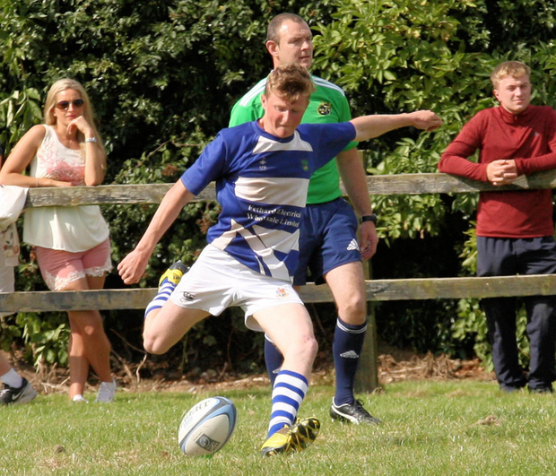 Junior out-half Gary Kavanagh in action for the club.
