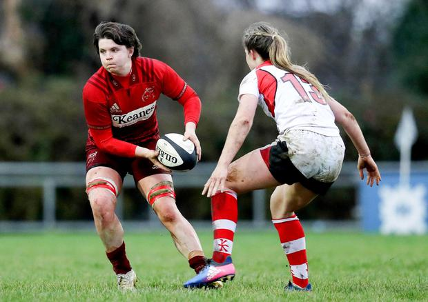 Munster's Ciara Griffin. Photo: INPHO