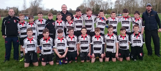 St Senan's U-13s following a recent encounter with UL Bohemians