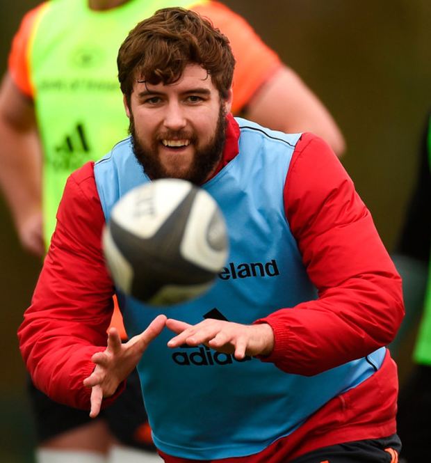 Rhys Marshall wants to make up for lost time after an interrupted campaign last season. Photo: Sportsfile