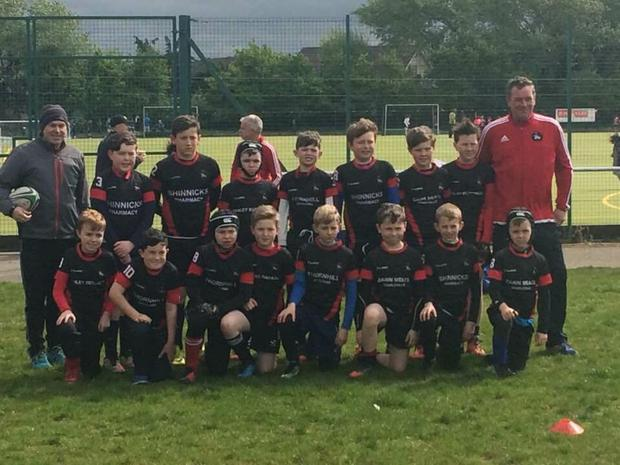 Mitchelstown RFC's U-11s team