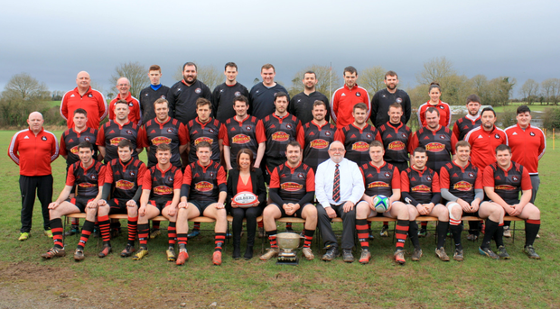The club's junior team who were crowned Munster J1 Division 3 league champions last year