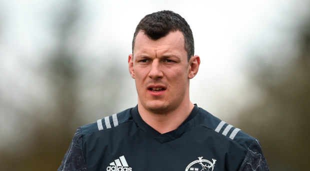 Robin Copeland hopes to leave Munster on a high. Photo: Sportsfile