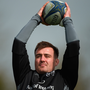 Niall Scannell during training. Photo: Sportsfile