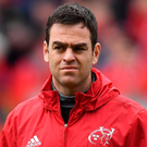 Munster head coach Johann van Graan. Photo: Sportsfile