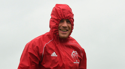 CJ Stander during squad training this week