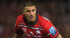 The visit of Gloucester will see a return to Thomond Park for Gerbrandt Grobler