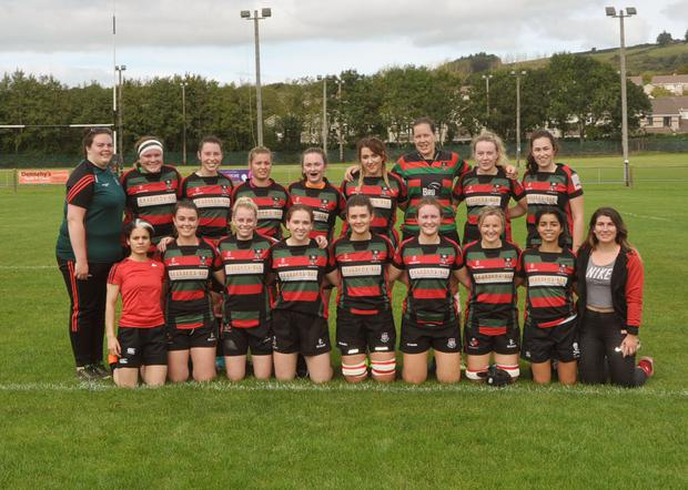 The Ladies team who took part in a senior final recently