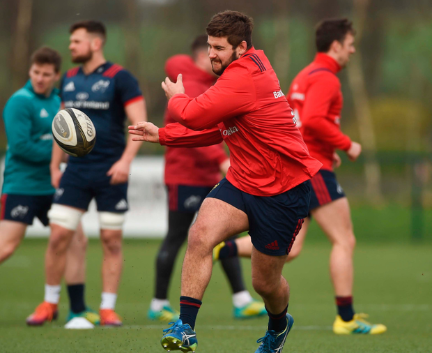 Rhys Marshall worked hard on his rehab while team-mate CJ Stander was on international duty