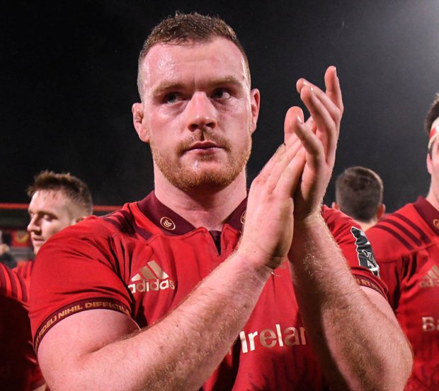 Brian Scott says he would be a fireman if he didn't play rugby. Photo: Sportsfile