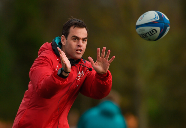 Johann van Graan has extended his Munster stay