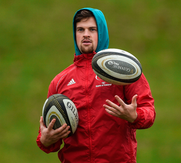 Conor Oliver: 'I moved school in sixth year and I had all of the basics down from just playing rugby with Skerries.' Photo: Diarmuid Greene/Sportsfile
