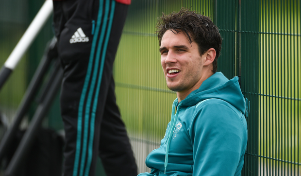 Having a former Leinster player, Joey Carbery, back fit is another lift for the province. Photo: SPORTSFILE