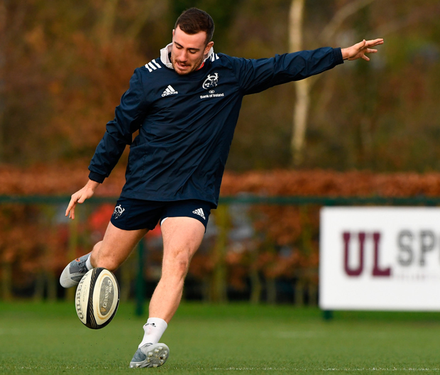 Owen Farrell JJ Hanrahan's kicking duties may be stepped up in the coming weeks. Photo: Matt Browne/Sportsfile