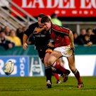 Munster and Ronan O'Gara endured a difficult day in Castres back in 2004. Photo: Sportsfile