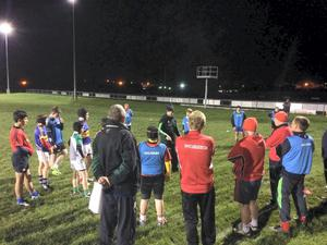 Coaching workshop at Cashel