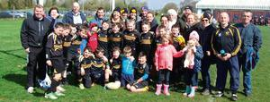 Parents, coaches and players at an U-10 national blitz in Portlaoise