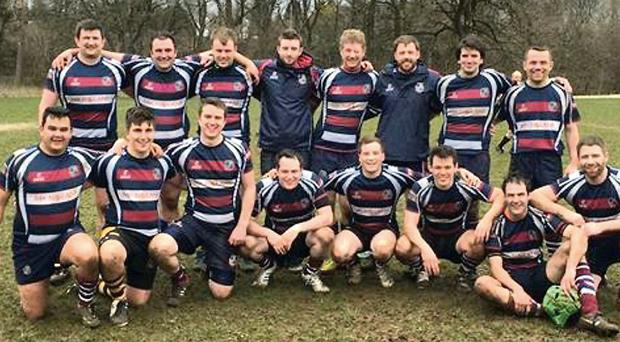 The Stillorgan RFC team