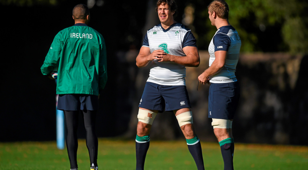 Mike McCarthy (left) will be a big loss to Leinster after his World Cup call-up