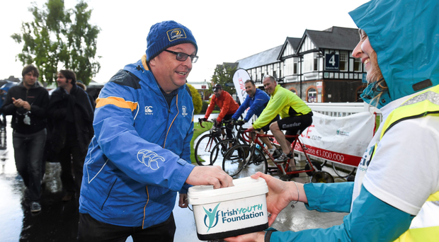 The Irish Youth Foundation is one of the official charity partners of Leinster Rugby