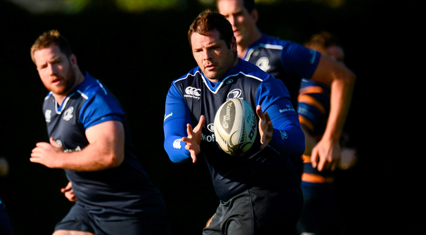 Mike Ross is back in action with Leinster after his World Cup campaign with Ireland which ended in disappointment with defeat against Argentina