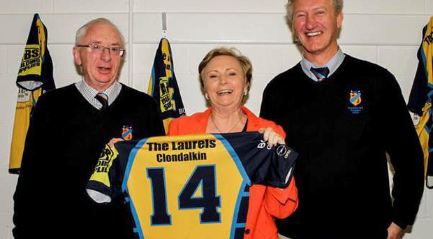 Minister for Justice Frances Fitzgerald cut the tape