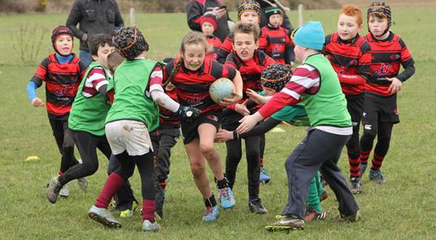 Action from the Arklow minis blitz