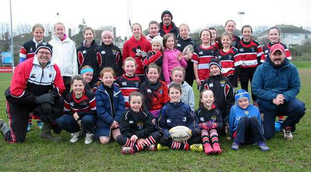 Wicklow U-12s had a strong representation of 15 girls and were joined by Seapoint, Greystones, Westmanstown, Terenure, DLSP, Clontarf, Barnhall, Blackrock, Ratoath and hosts Skerries