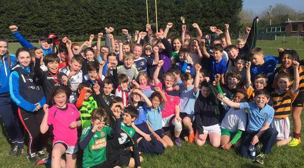 The schools taking part were St Colmans, Gaelscoil an Mhuillean, Gainstown, Curraghmore, St Kenny's, The Downs National Schools